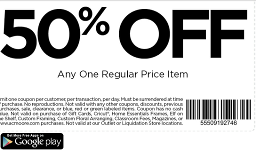 Coupons for AC Moore screenshot 3