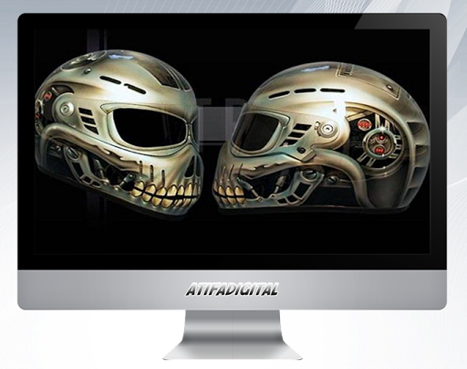 Airbrush Graphic Design for PC