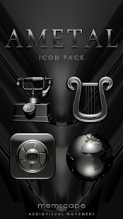 AMETAL Icon Pack Screenshot