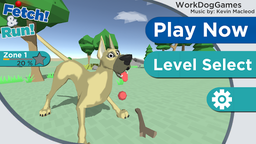 Dog 3D Fetch and Run