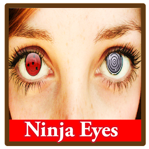 Shinobi Eyes Stickers Editor