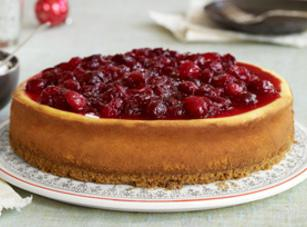 Cranberry-cinnamon Cheesecake Recipe
