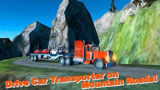 Car Transporter Hill Climb 3D