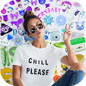 Emoji Background Editor icon