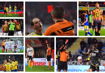 Voici les arbitres les plus et les moins sévères ?  Exclut-on trop de joueurs en Belgique ?