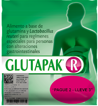 Glutapak R Sobre x 15 g   Pague 2 Lleve 3 Amarey