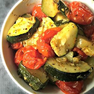 Roasted Italian Zucchini.