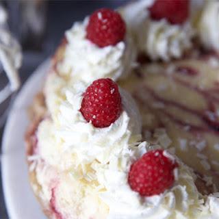 Copycat White Chocolate Raspberry Truffle Cheesecake.