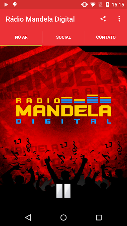 Rádio Mandela Digital- screenshot