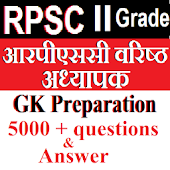 RPSC 2nd Grade GK in Hindi