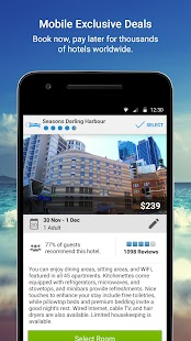 Wotif Hotels & Flights- screenshot thumbnail