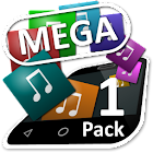 Mega Theme Pack 1 iSense Music icon