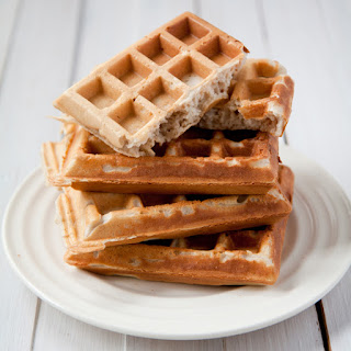 Buckwheat Flour Morning Waffles.