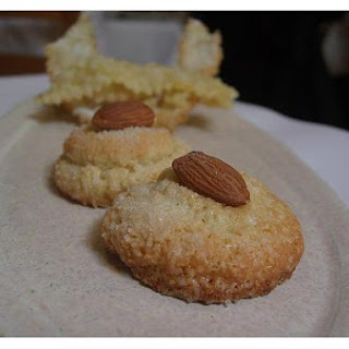 Amaretto Almond Cookies