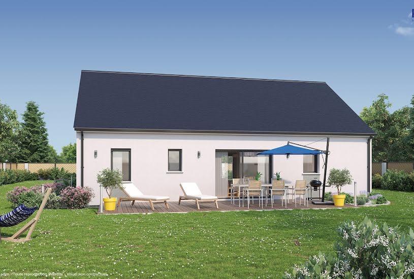Vente Terrain + Maison - Terrain : 699m² - Maison : 82m² à Coulaines (72190)