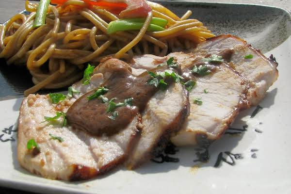 Barbecued Pork With Garlic Sauce Recipe