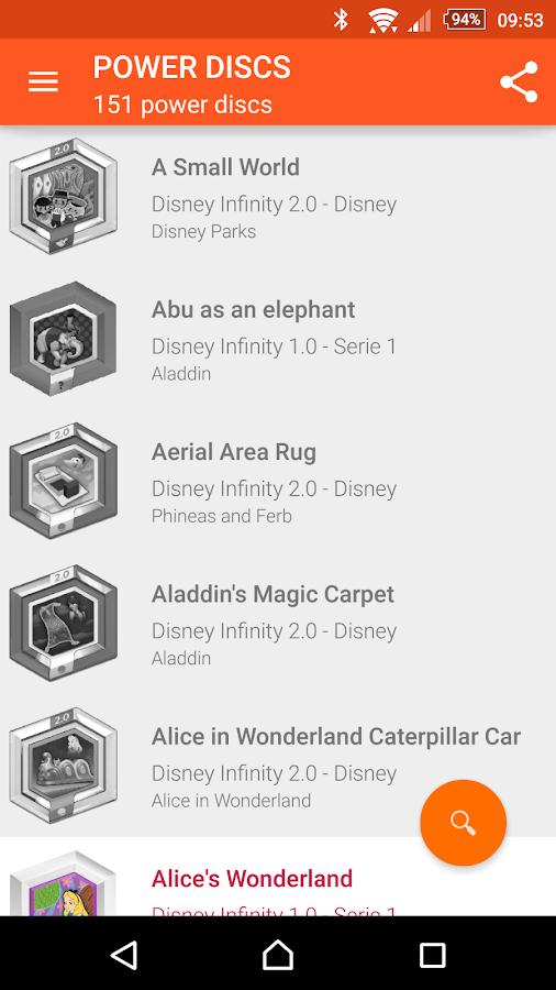 My Disney Infinity Collection- screenshot