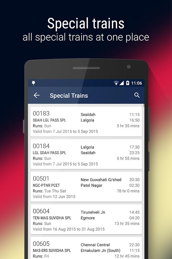 Rail Jankari Indian Railways Android Apps On Google Play