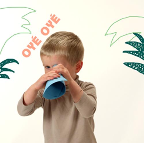 Oyé Oyé - Affiches personnalisées pour petits aventuriers