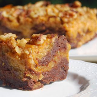 Whole Wheat Pumpkin Chocolate Brownies (Vegan)