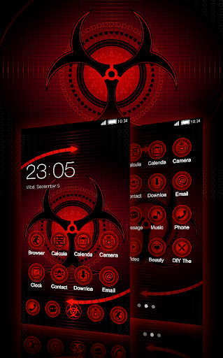Sharingan Theme: Cool launcher Rasengan Wallpaper 4.0.7 screenshots 1