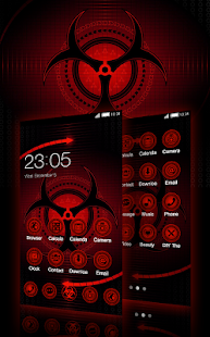 Sharingan Theme: Cool launcher Rasengan Wallpaper - náhled
