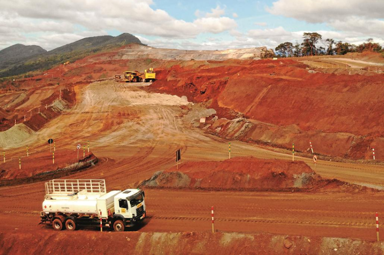 Minas Rio, where the 530km journey begins for iron ore slurry. Picture: ALLAN SECCOMBE