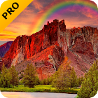 Rote berg PRO Live Wallpaper icon