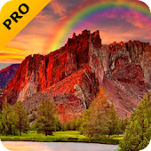 Red Mountain Pro Live Wallpaper