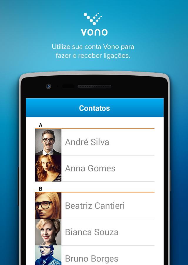 Vono - VoIP - screenshot