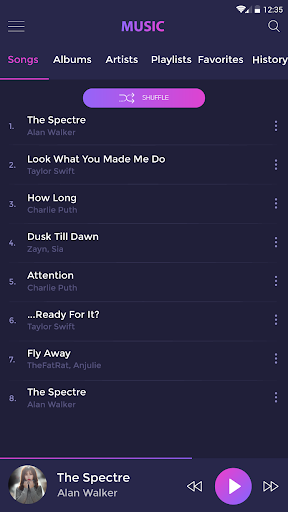 Music player - mp3 player 4.1.5 Screenshots 8