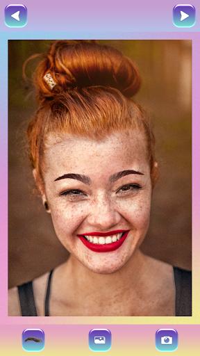 Eyebrow Shaping Photo Editor 1.5 screenshots 3