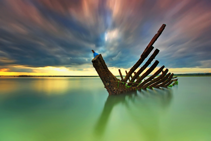 The Ribs by Agoes Antara - Landscapes Waterscapes