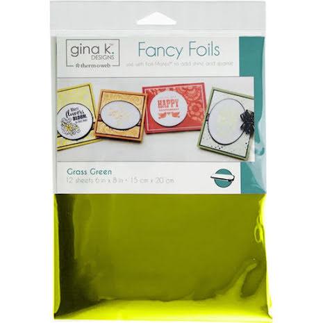 Thermoweb Gina K Designs Deco Foil 6X8 - Grass Green