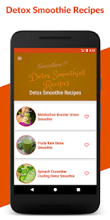 Detox Smoothies : Healthy Smoothie Recipes Offline - náhled
