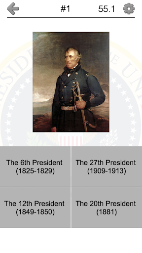 玩免費益智APP|下載US Presidents - American Quiz app不用錢|硬是要APP