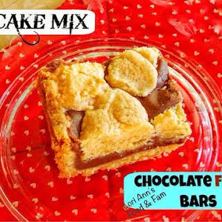 {Cake Mix} Fudgey Bars.