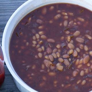 Crockpot BBQ Beans.
