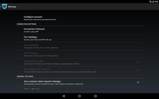 DroidVPN - Android VPN screenshot 4