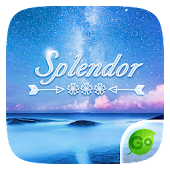 Splendor GO Keyboard Theme
