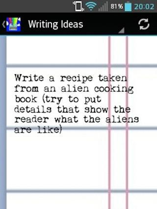 The Writer's Toolkit- screenshot