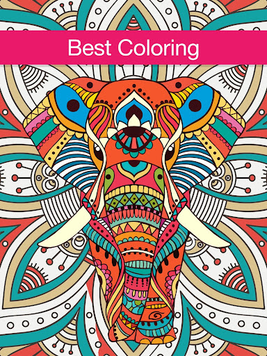 Mandalas Coloring Book For Adults Adult Color App Screenshot 7
