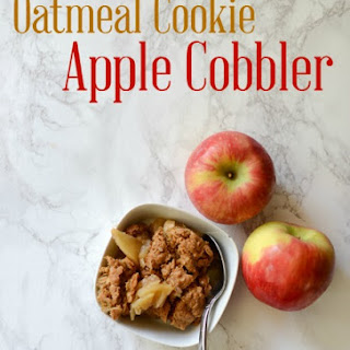 Oatmeal Cookie Apple Cobbler
