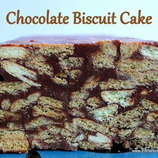 Chocolate Biscuit Cake With Condensed Milk Recipes.