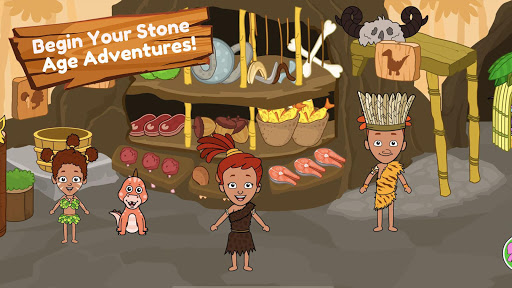 My Dinosaur Town - Jurassic Caveman Games for Kids 3.1 Screenshots 3