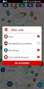 Radares Fijos y Móviles Screenshot