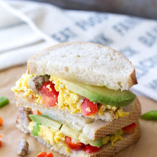 Sourdough Fiesta Breakfast Sandwich Recipe