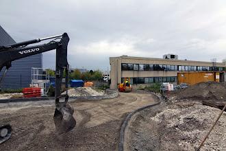 Photo: Passage véhicules #datacenter #reims (Visite de chantier 09.10.2014)