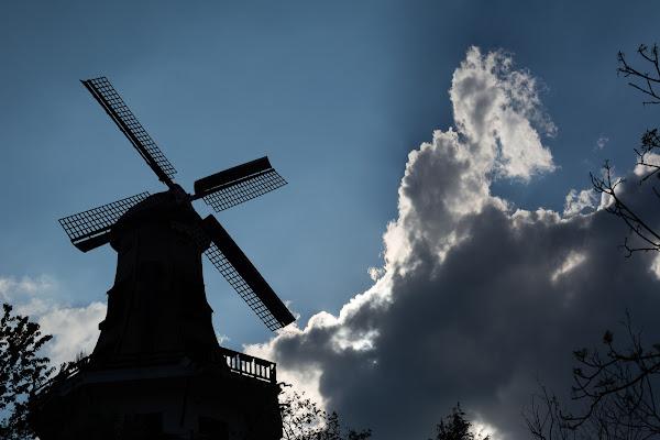 Le moulin dans le bleu di IsideB