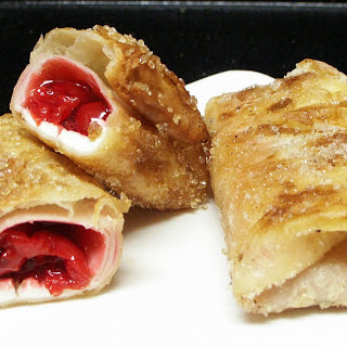 Cherry Pie Chimichangas